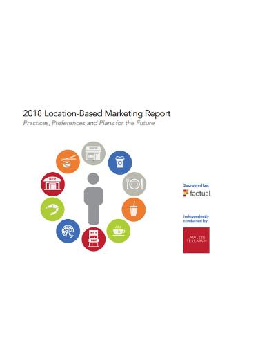 location based marketing report