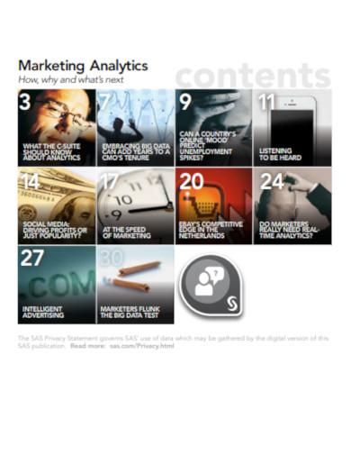 magazine marketing analytics