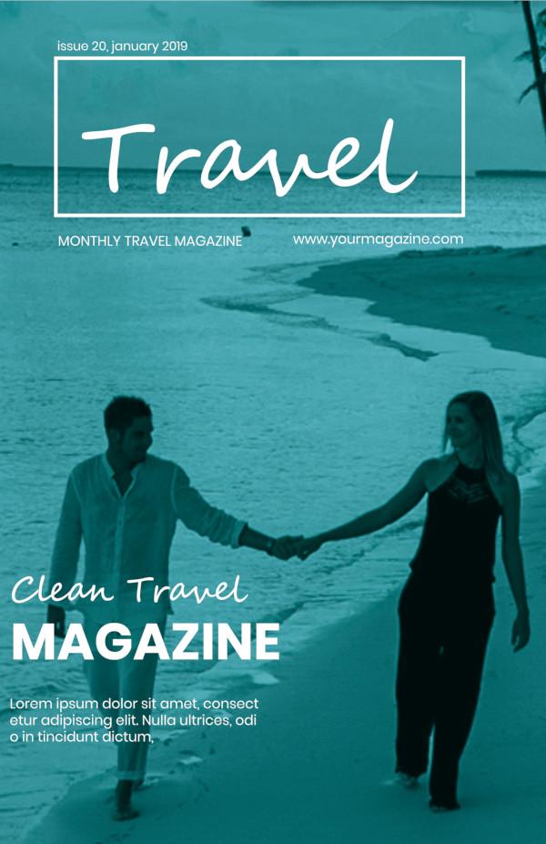 magazine travel brochure