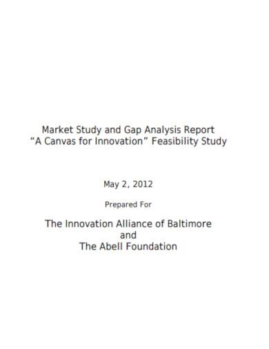 market study gap analysis
