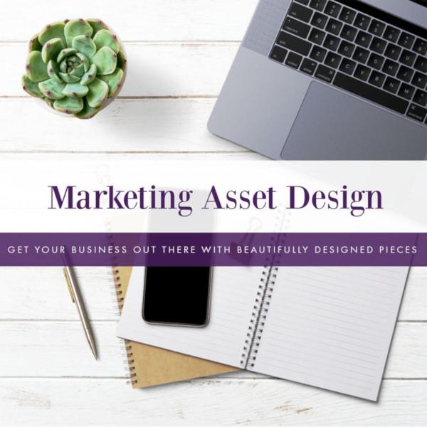 marketing asset business card design