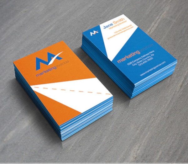 marketing avenue business card designs