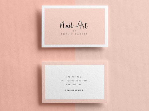 marketing business card design