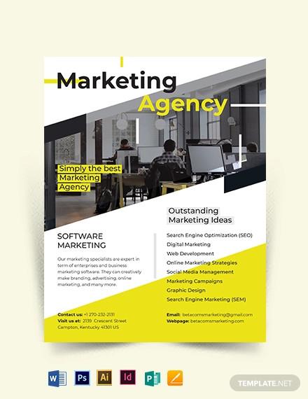 marketing flyer template1
