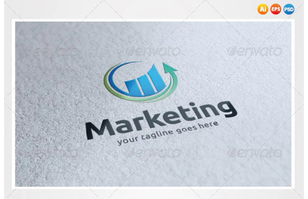 marketing logo example