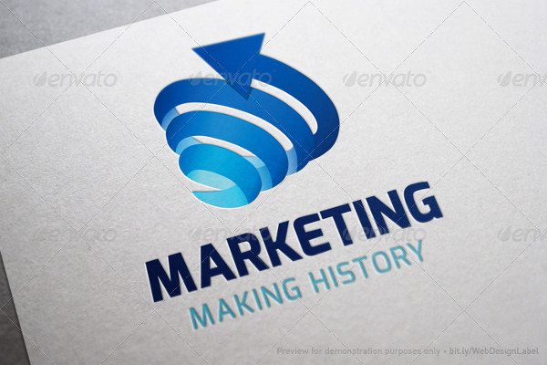 marketing logo in pdf