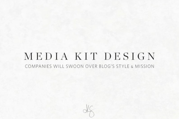 marketing media kit design