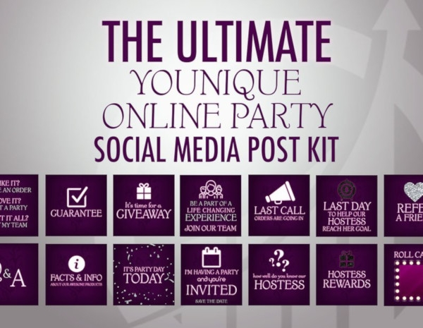 marketing social media party kit