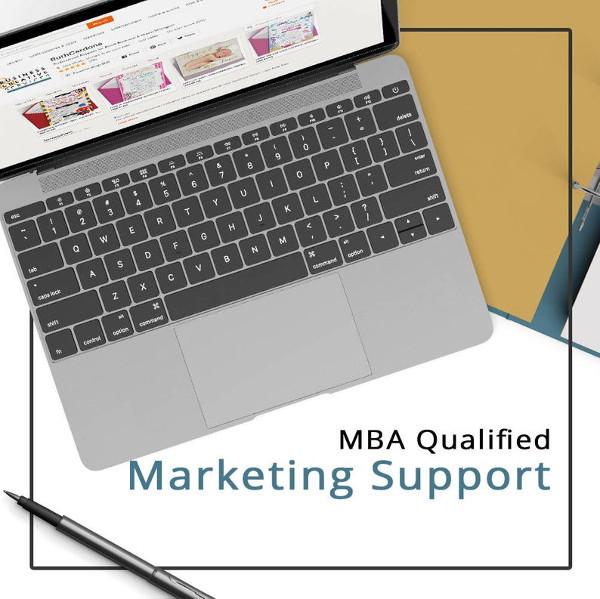 marketing support presentation