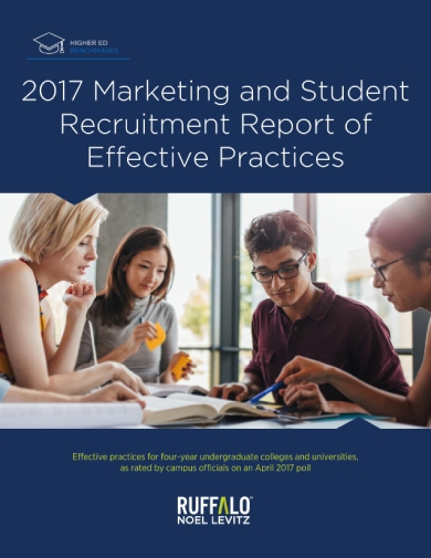 marketing and student recruitment report