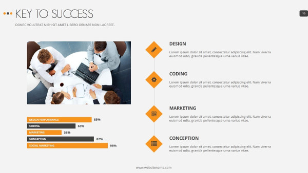 marshal marketing presentation template