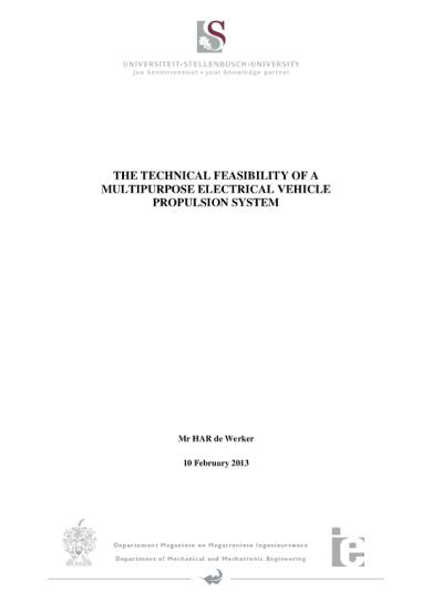 mechatronics project proposal sample