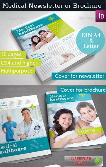 medical healthcare newsletter