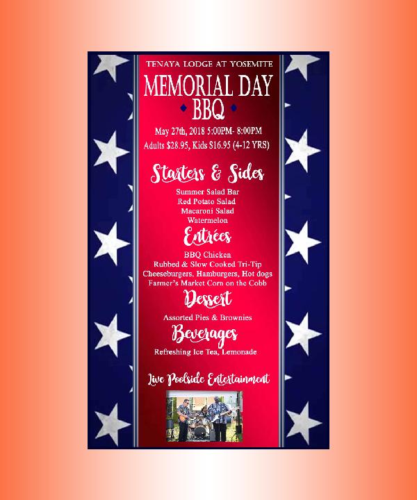 memorial day bbq menu