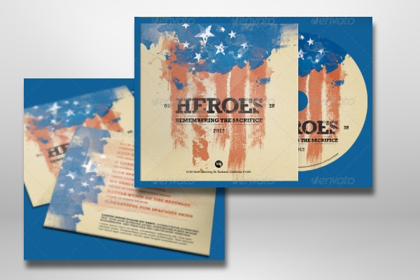 memorial day cd label