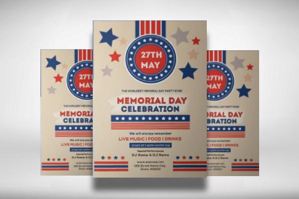 memorial day celebration invitation