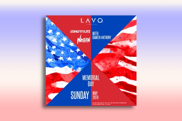 memorial day celebration poster