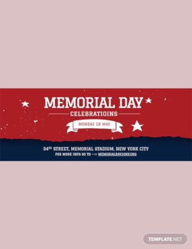 memorial day facebook event cover