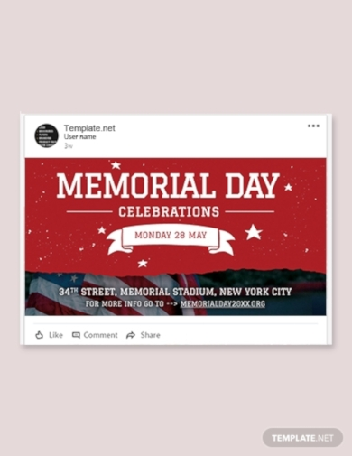 memorial day linkedin post