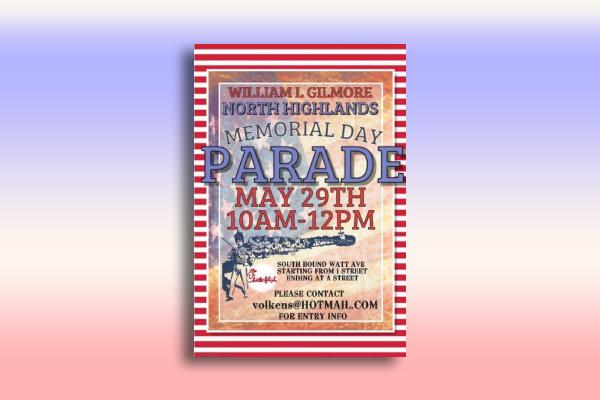 memorial day parade poster