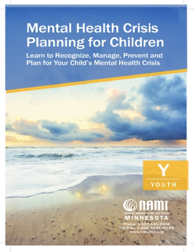 mental health crisis plan for children