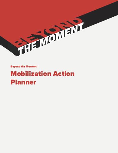 mobilization action planner