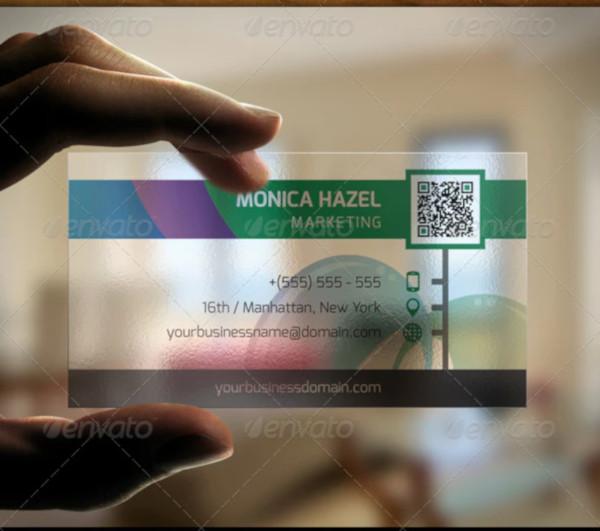 modern marketing logo business card