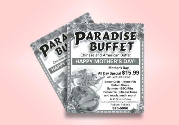 mothers day buffet coupon