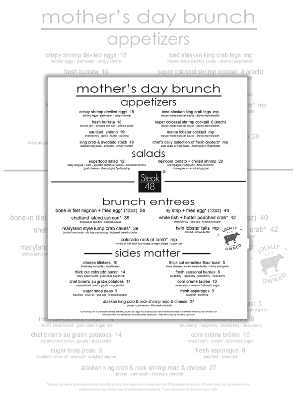 mothers day steakhouse menu1