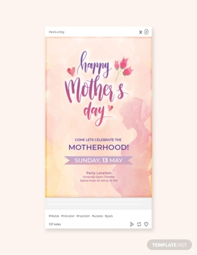 mothers day tumblr post
