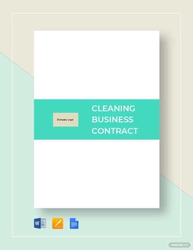 neat cleaning business contract