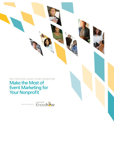 non profit event marketing plan