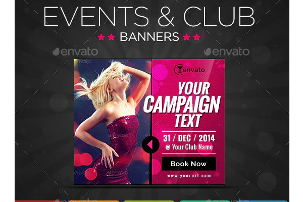 party event banners