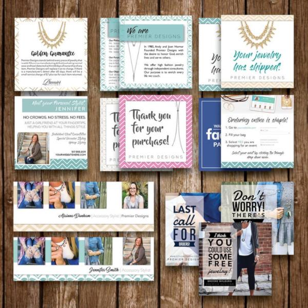 premier designs social media event kit