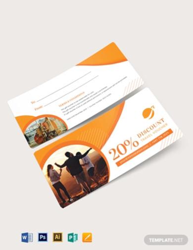 printable travel voucher template