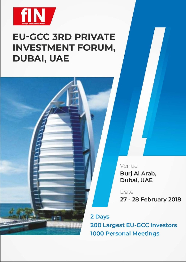 private investment forum event template