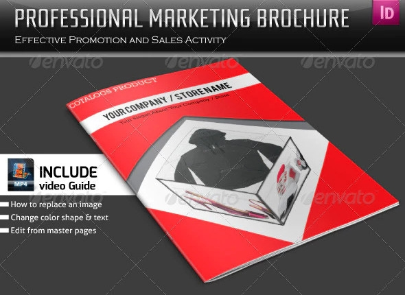 professional marketing brochure