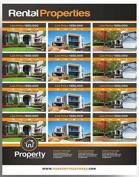 property listing sheet template
