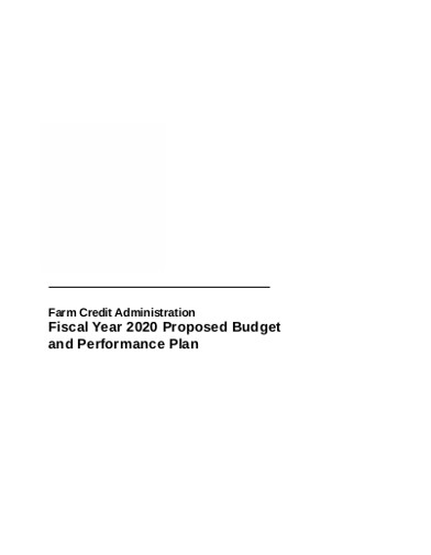 proposed farm budget