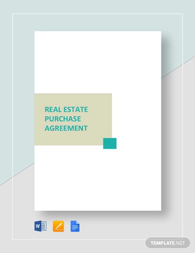 real estate purchase agreement template2