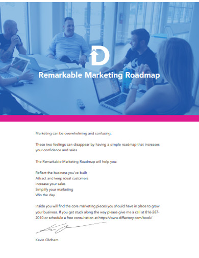 remarkable marketing roadmap