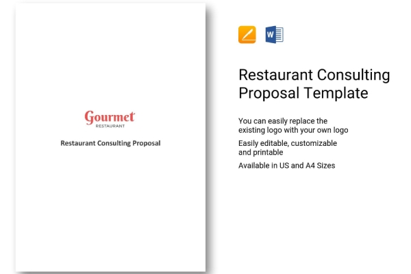 restaurant consulting services proposal
