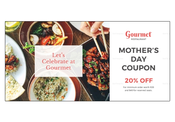 restaurant mothers day coupon