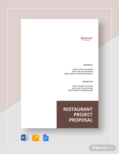 restaurant project proposal