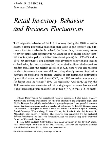 retail inventory business fluctuations