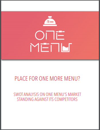 swot analysis of restaurant market