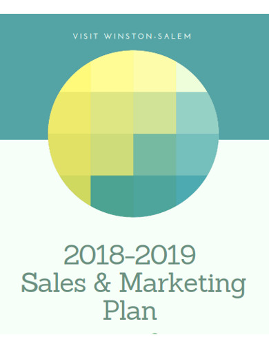 sales marketing plan example