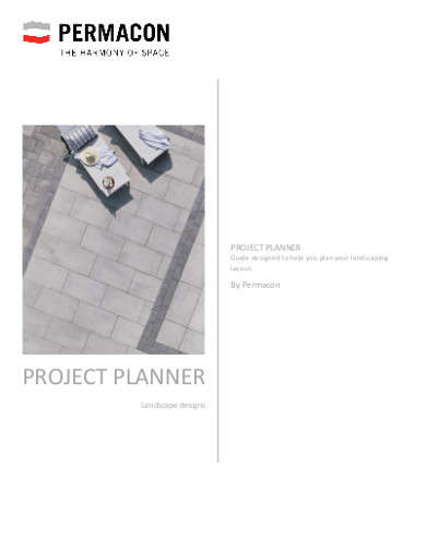 sample project planner