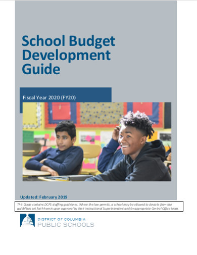 school budget development guide
