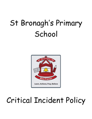 school incident response policy